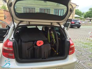 Platz ist auch im kleinsten Auto