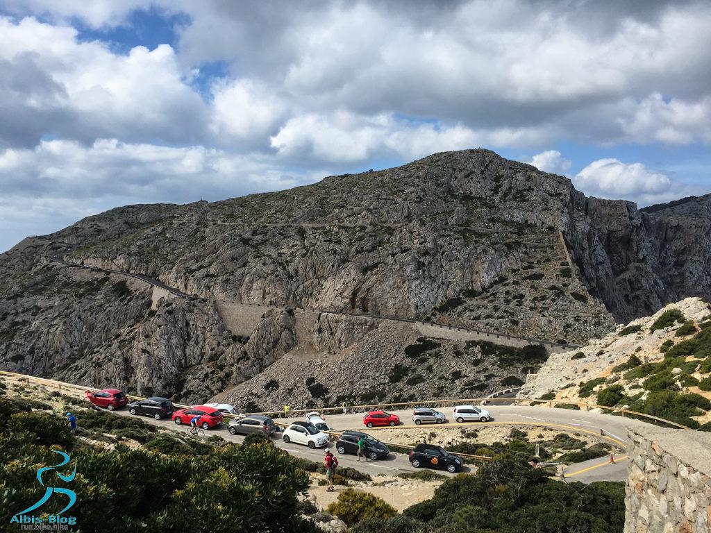 Cap Formentor Autoschlange